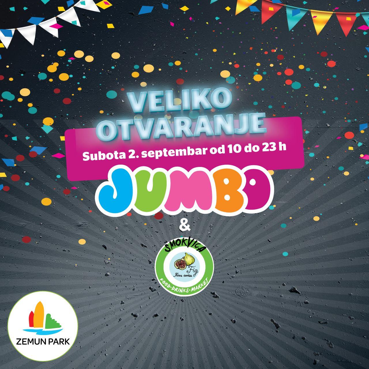Jumbo Srbija -  Veliko otvaranje Zemun park!