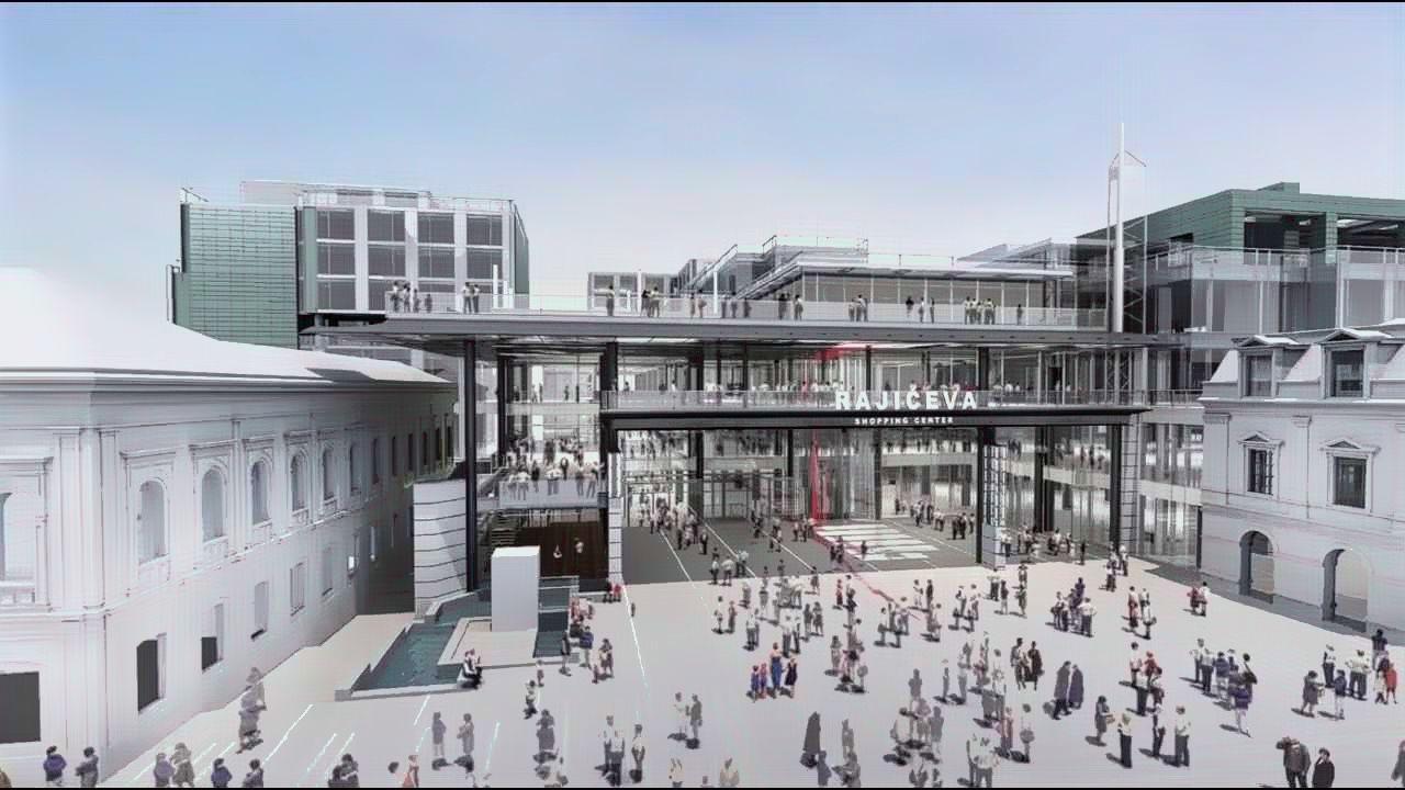 Tržni centar u centru grada - od sledeće godine u Beogradu
