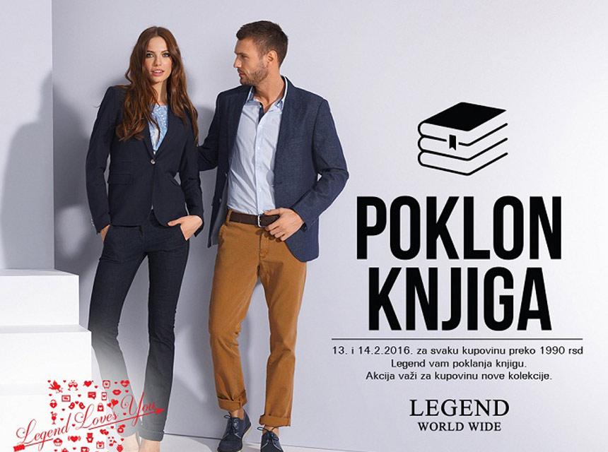 Akcija u Legend prodavnici - poklon knjiga!