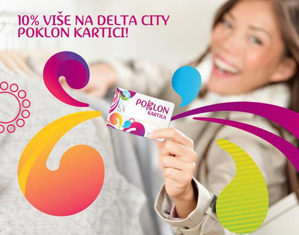 Najbolji poklon za 8. mart - Delta City Poklon kartica