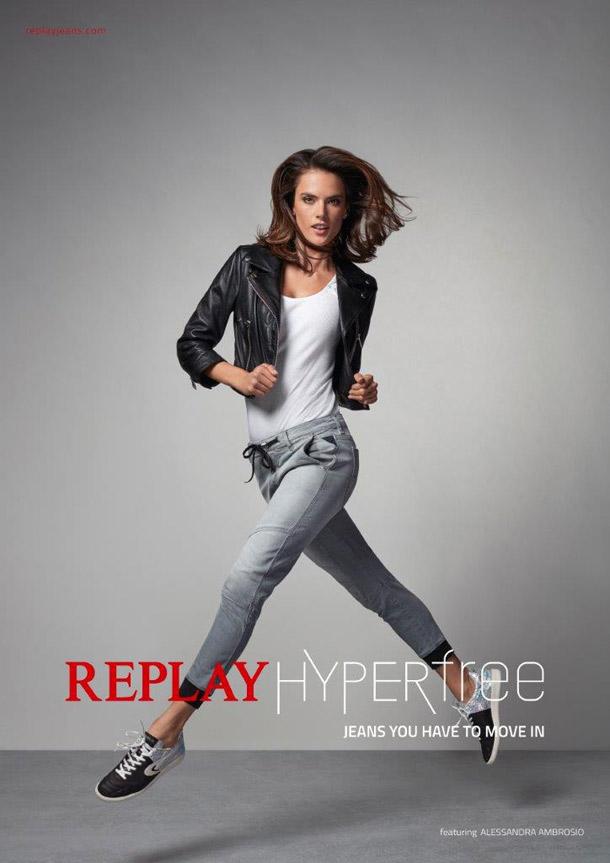 Replay - Alessandra Ambrosio i Neymar glavne zvezde kampanje