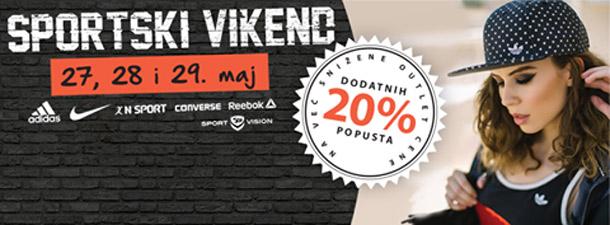 Sportski vikend - Fashion park outlet Inđija!