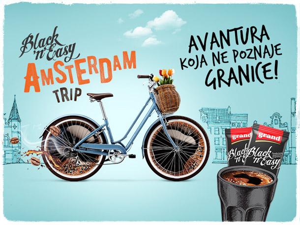 Black'n'Easy vas vodi u Amsterdam!