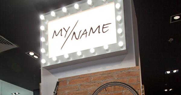 Nova modna etiketa MY/NAME