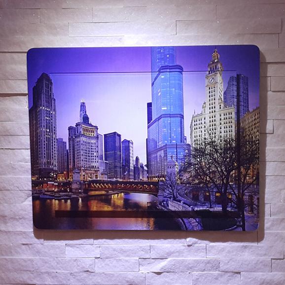 Moderna slika za lepši dom - Chicago Blue
