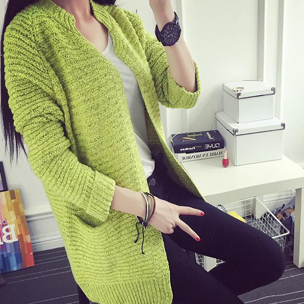Zeleni kardigan