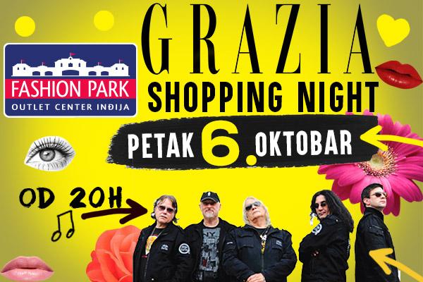 Grazia Shopping Night u Fashion Park Outletu, 6. Oktobar - prva jesenja noc kupovine