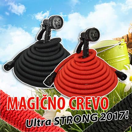 Magično rastegljivo crevo za vodu sa prskalicom - Ultra STRONG 2017!
