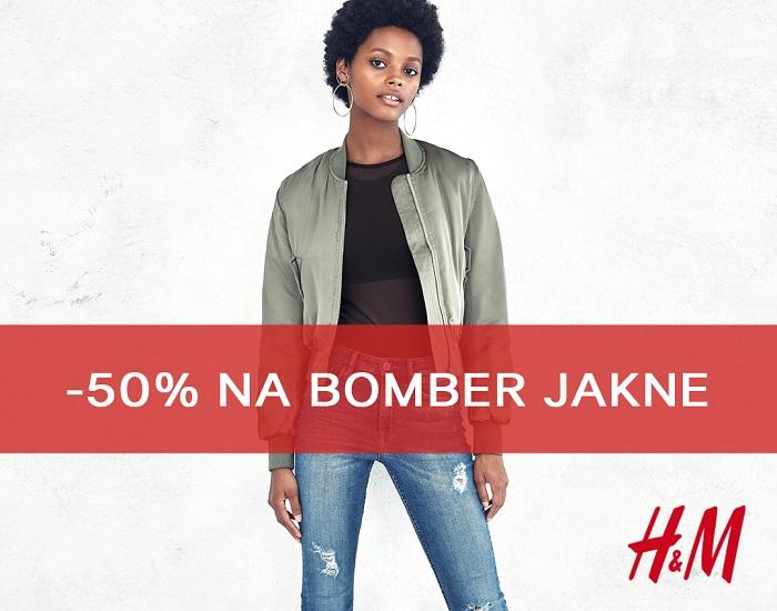 H&M - popust na jakne 50%