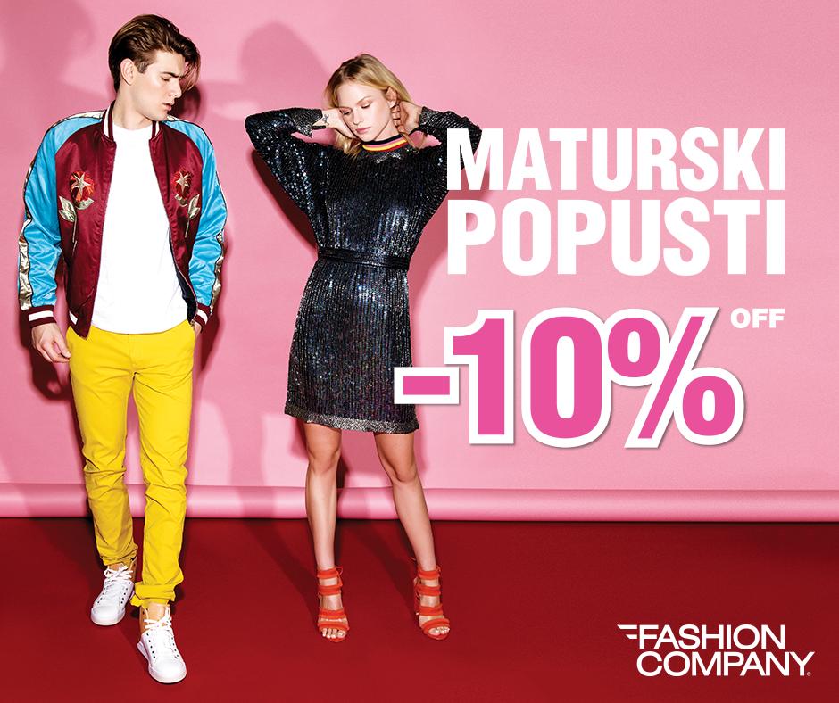 Fashion Company - MATURSKI POPUSTI