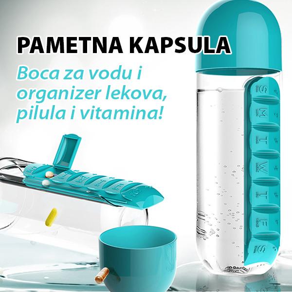 Pametna kapsula - Organizer lekova i vitamina