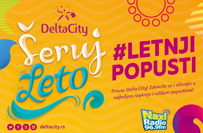 Letnja sniženja u Delta Cityju!