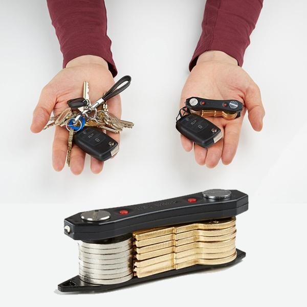 Key Ninja - 3 u 1 praktičan organizer ključeva