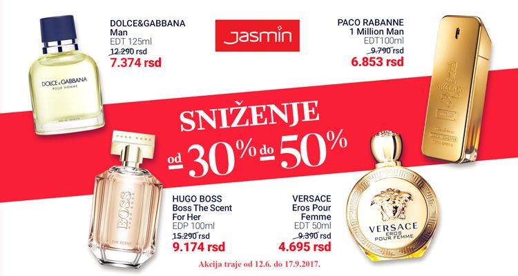 Do polovine septembra - velika sniženja na parfeme i šminku