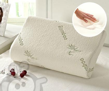Bamboo anatomski jastuk od memorijske pene