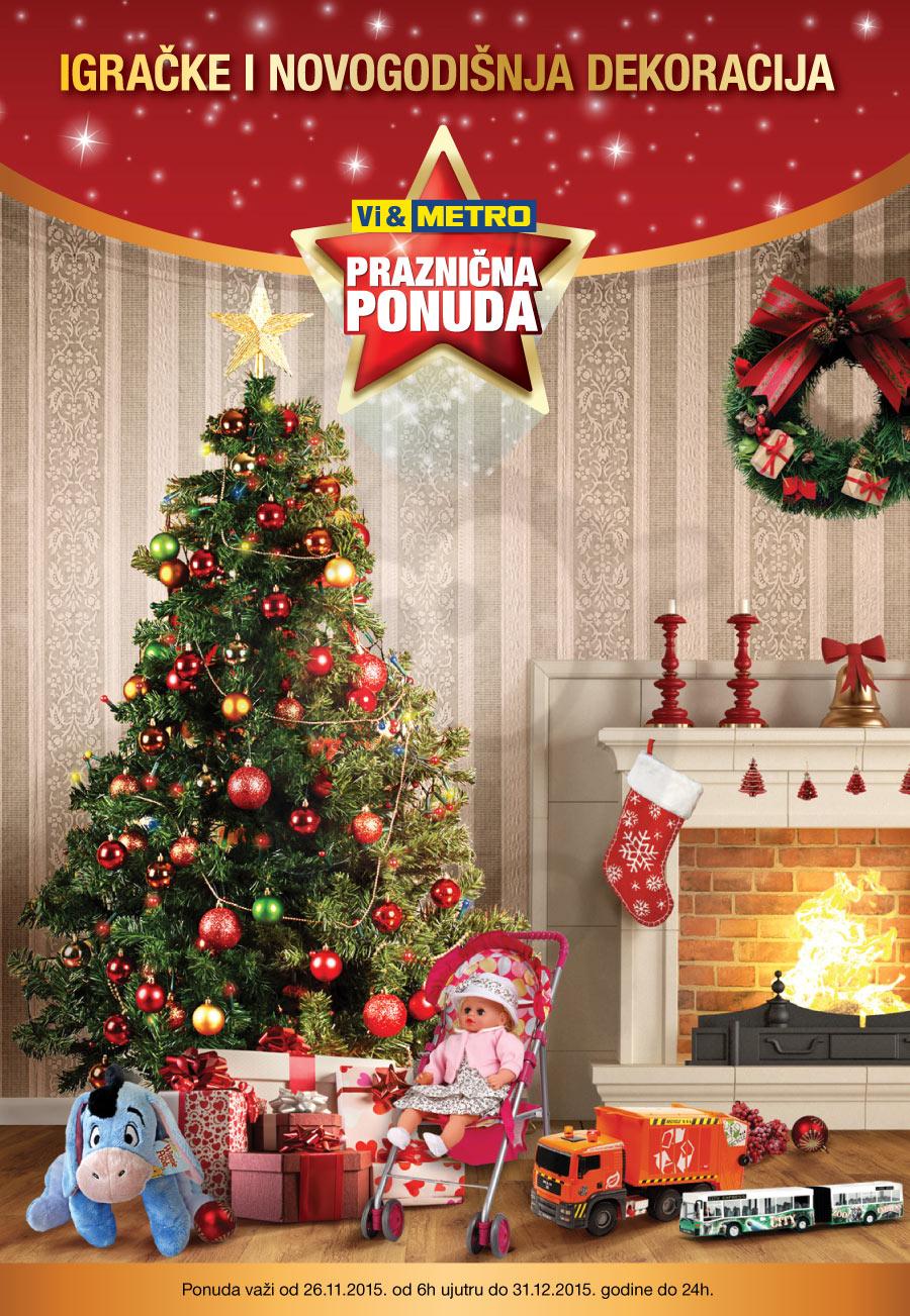 Akcija - Igračke i novogodišnja dekoracija