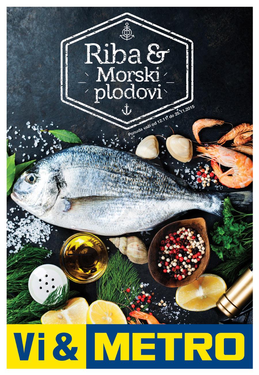 Akcija - Riba i Morski Plodovi