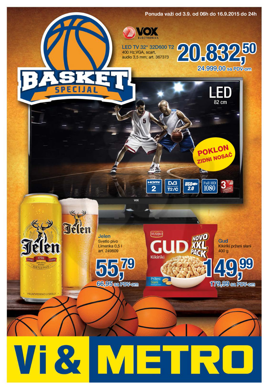 Akcija - Basket specijal