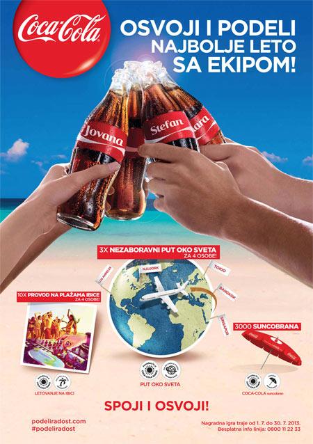Coca Cola nagradna igra - Spoji i osvoji 2013