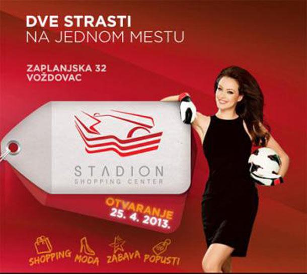 Otvaranje Stadion šoping centra u Beogradu