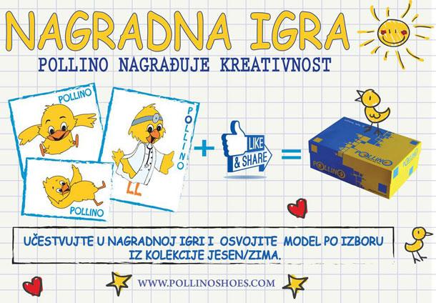 Pollino nagradna igra - kreativni mališani