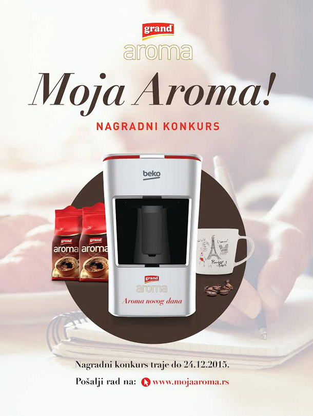 Nagradni konkurs Moja Aroma!