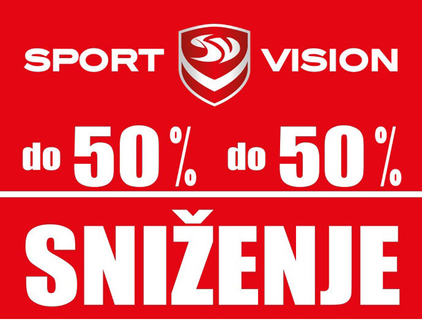 Letnje sniženje u Sport Vision-u!