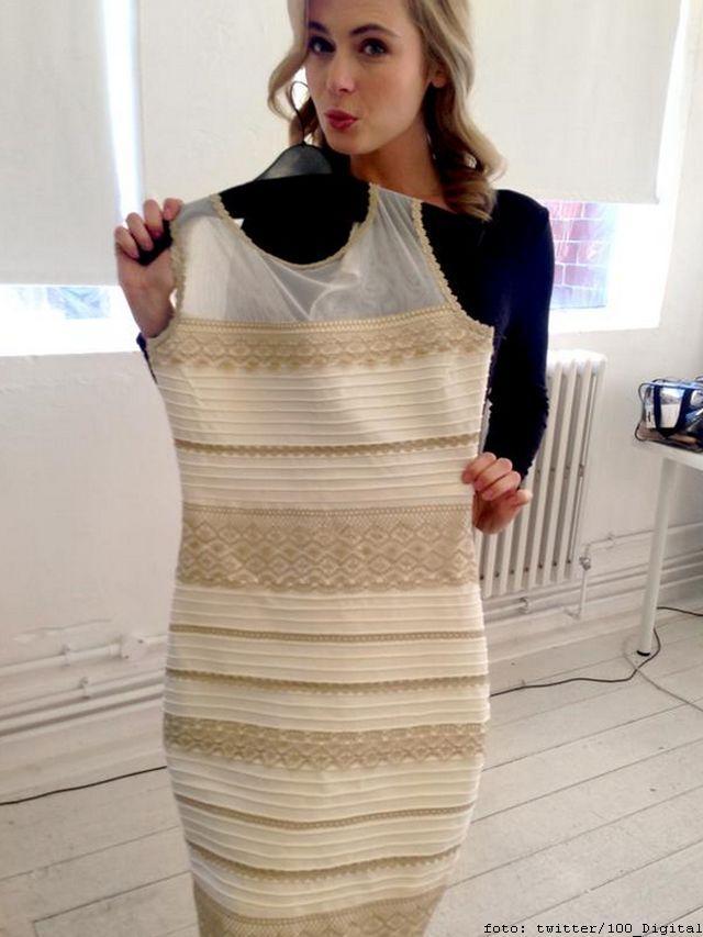 Sada možete verovati svojim očima: Haljina je belo-zlatna