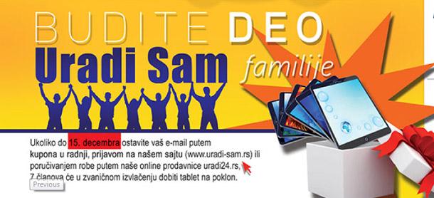 Budi deo Uradi Sam familije!