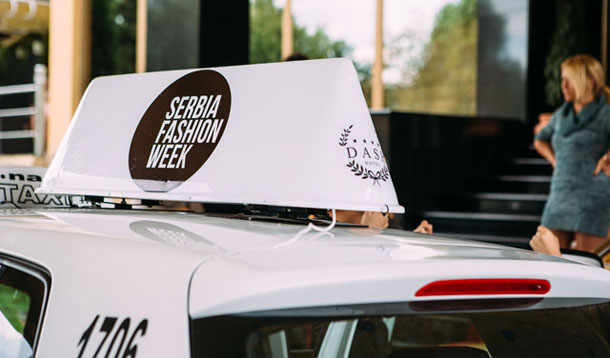 Serbia Fashion Week taksi - besplatan prevoz za žene