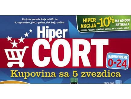 Hiper Cort TC Zmaj - Otvaranje u subotu 6. februara