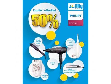 Lilly drogerie i Philips program lojalnosti