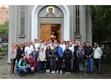 Forumova biciklistička ekspedicija u poseti Hilandaru