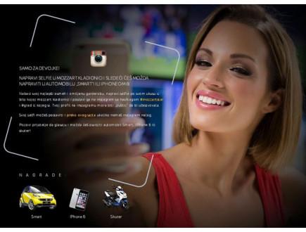 Nagradna igra - Najbolji Mozzart Selfie