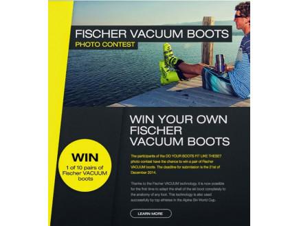 Fischer foto konkurs - Osvojite Vacuum ski cipele