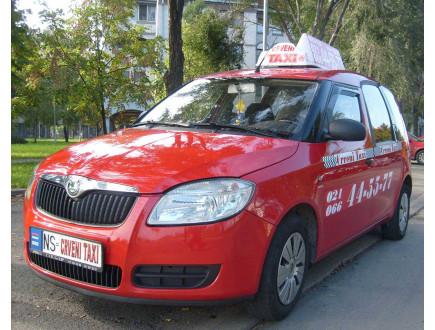 Crveni Taxi - Jedini taxi koji vozi i nagrađuje