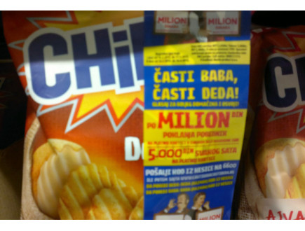 Chipsy nagradna igra- Časti baba, časti deda!