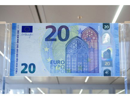 Ovo je nova novčanica od 20 EUR
