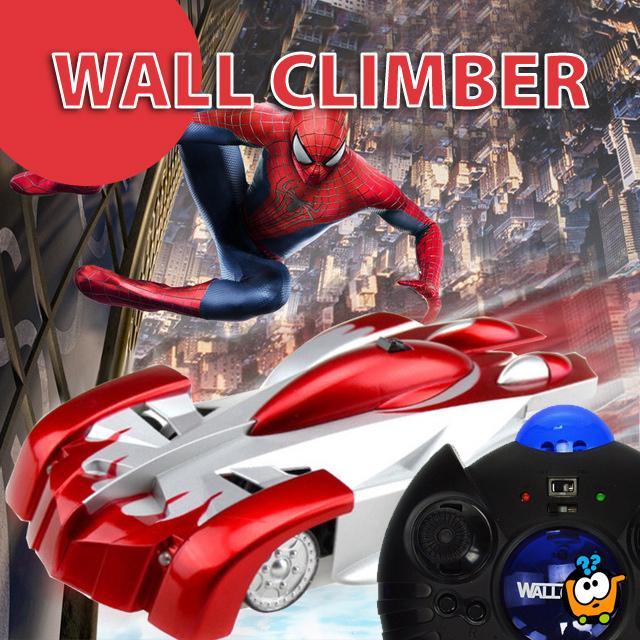 WALL CLIMBER autić - Ide po zidovima i plafonima