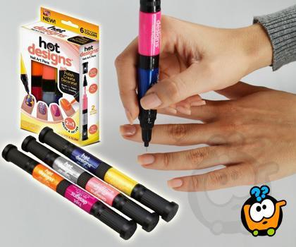 Magične Olovke za ukrašavanje noktiju