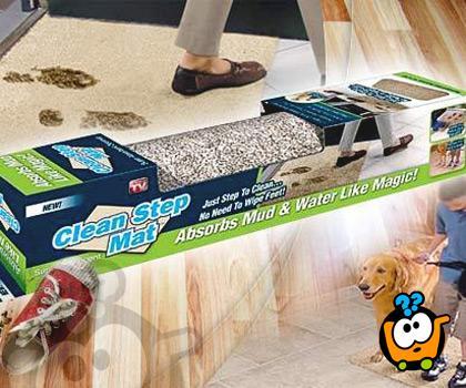 Clean Step Mat - Magični super-upijajući otirač
