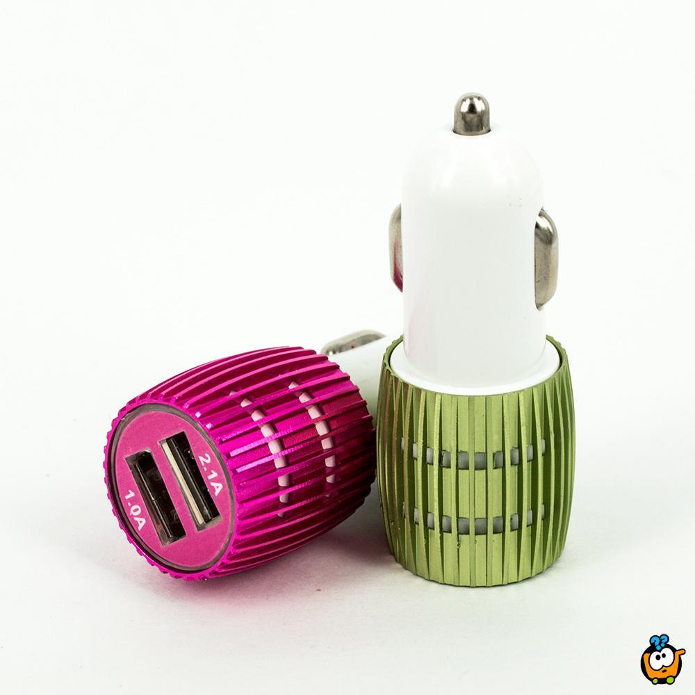 Smart Auto Punjač - Dupli USB auto punjač za telefone