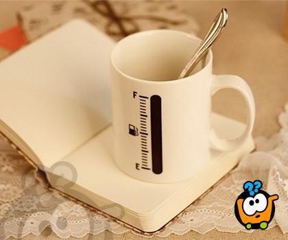 Tank Up Coffee Mug - Magična šolja koja menja izgled