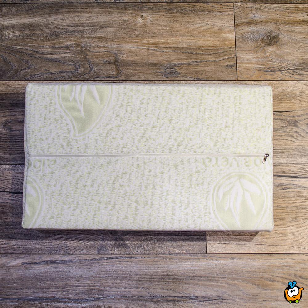 Aloe Vera anatomski jastuk od memorijske pene