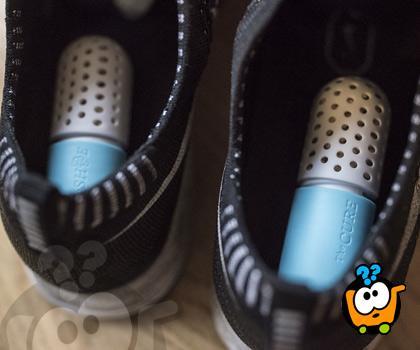 Magične kapsule protiv neprijatnog mirisa obuće