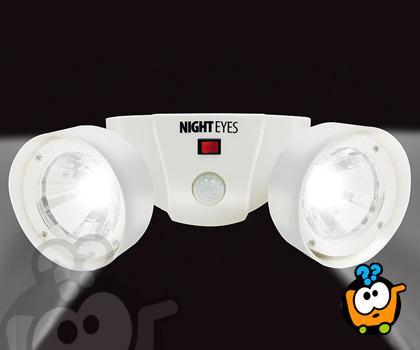 Night Eyes - Noćno sigurnosno svetlo sa senzorom