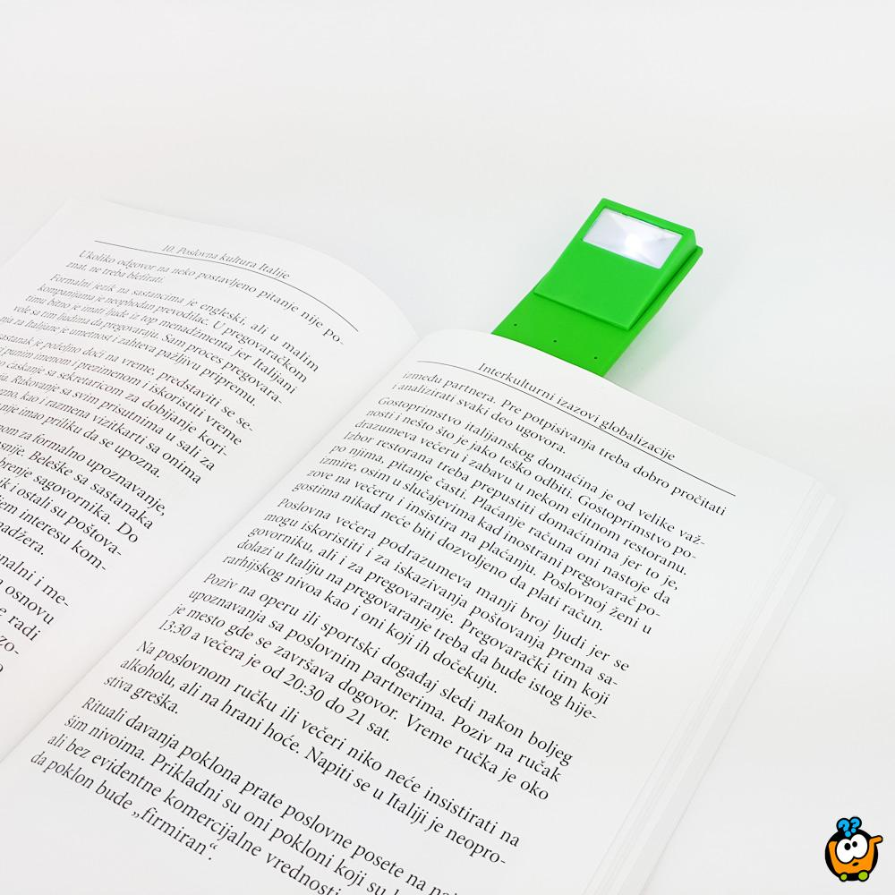 LUCILLA lampa za noćno čitanje + podesivi obeleživač stranica