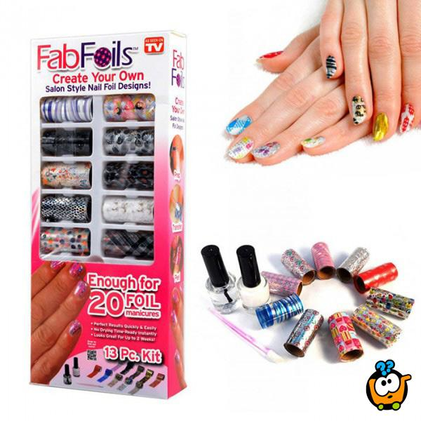 Fab Foils -  Hit folije za ukrašavanje noktiju