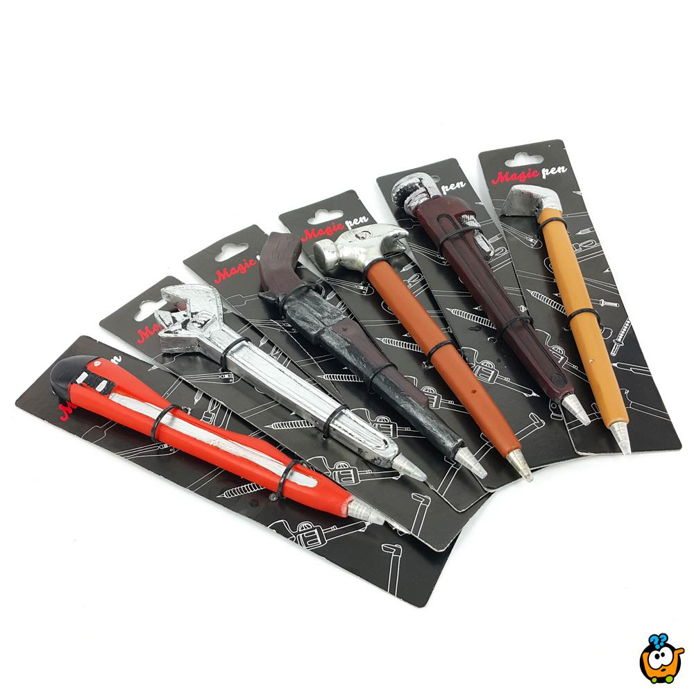 Orginalne hemijske olovke u različitim oblicima