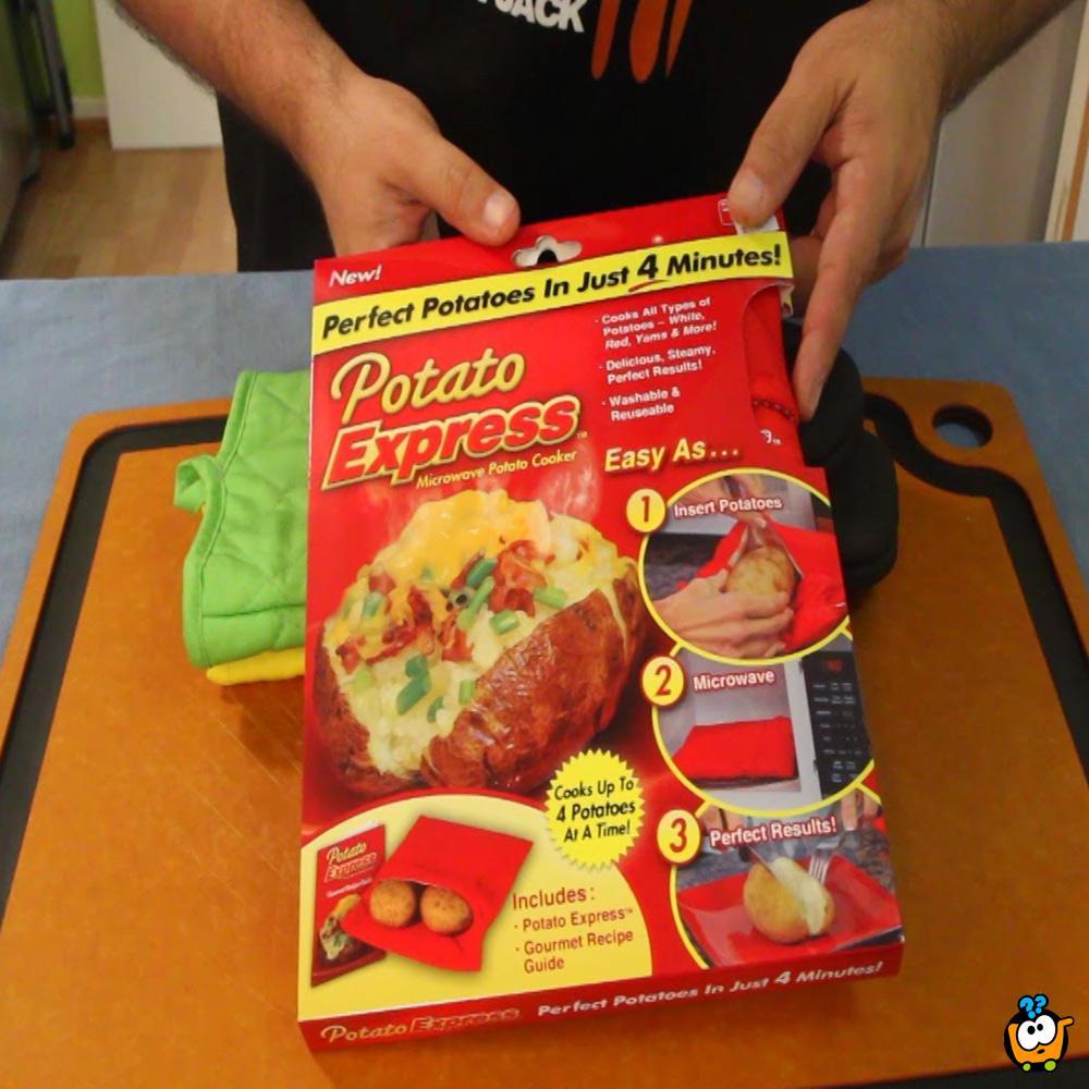 Potato Express - Vrećica za pečenje krompira u mikrotalasnoj